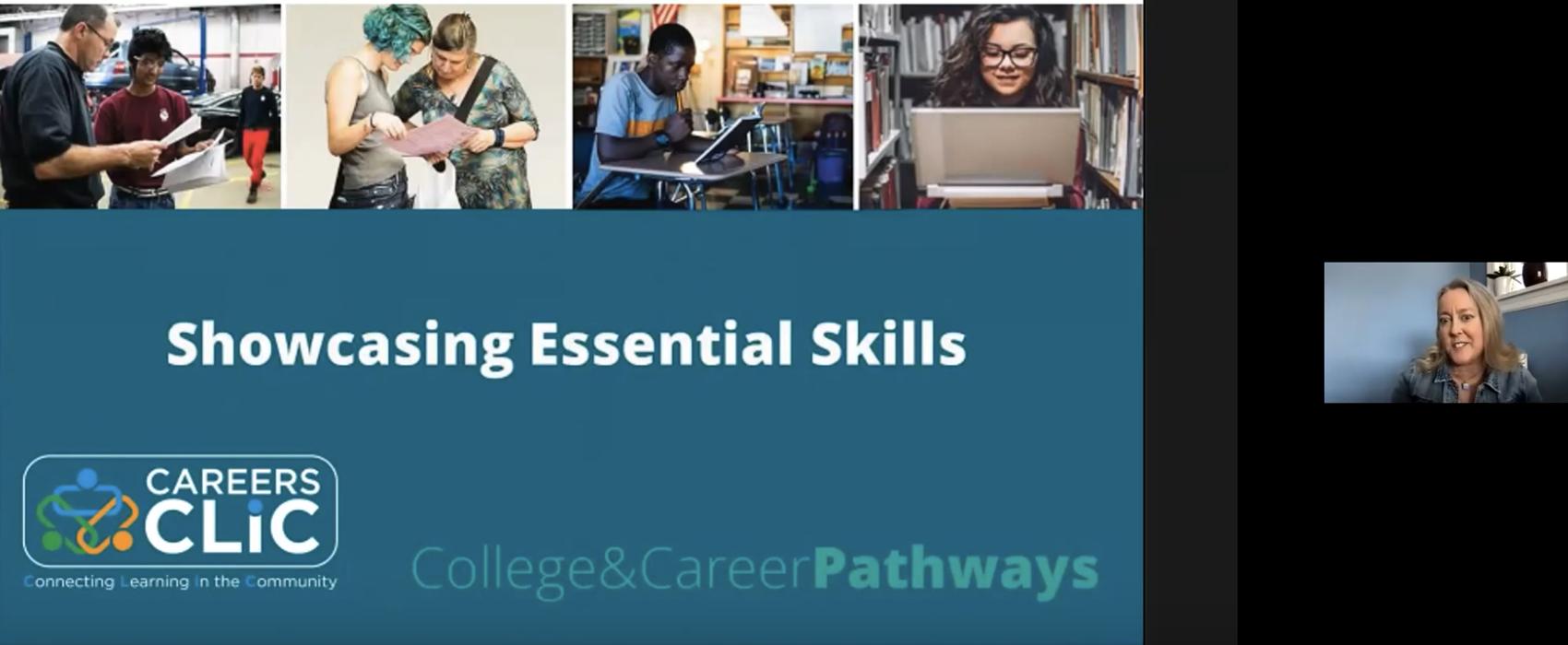 Webinar Recording: Showcasing Essential Skills