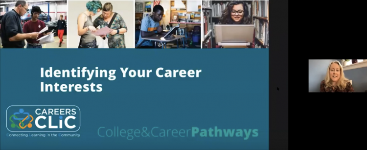 Webinar Recording: Identifying Your Career Interests