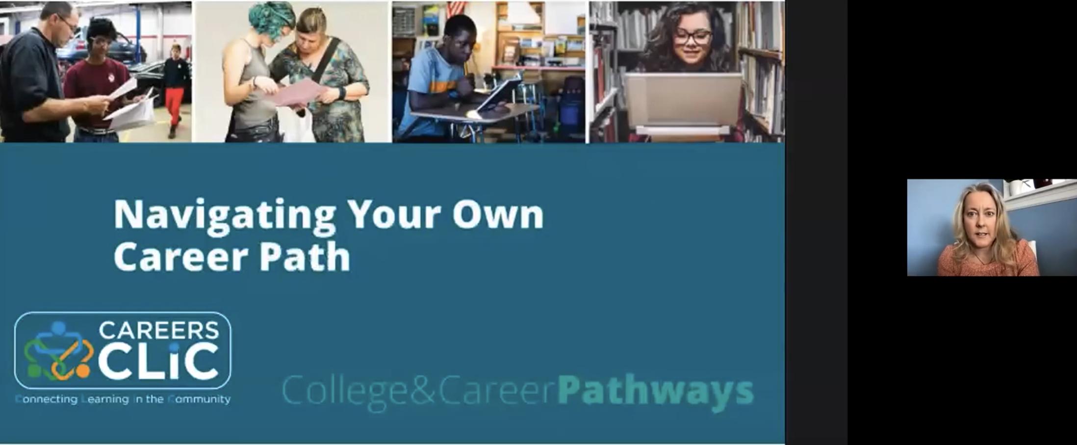 Webinar Recording: Navigating Your Own Career Path