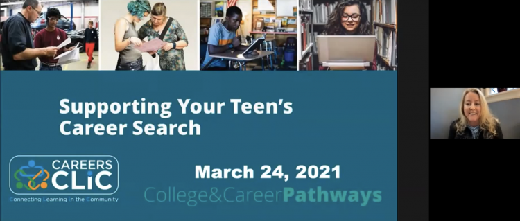 Webinar Recording: Supporting Your Teen's Career Search